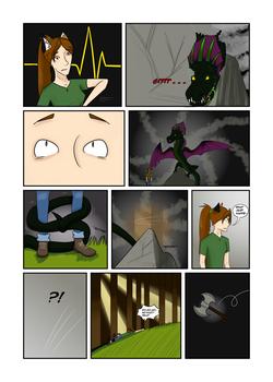Wings in to the Abyss Page 4 by oOEyedragonOo