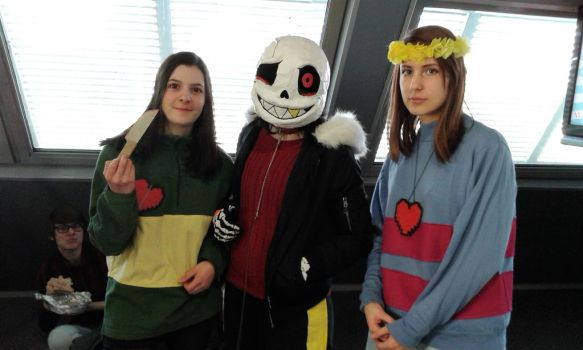 Undertale - Red Cosplay (JapanTours2017) by Laxianne