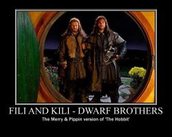 Fili and Kili by BlazedStarbon