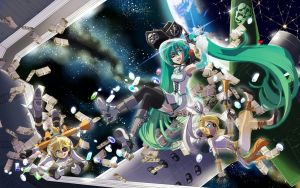 Space Pirates Vocaloid by robin01jp