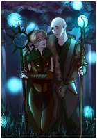 DAI: Old Magic {Solavellan} [Commission] by LadyTheirin