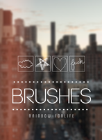 Brushes II by raibowforlife