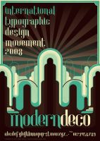 Modern.Deco.Typography by atobgraphics