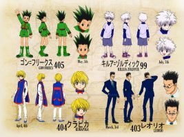 WELCOME HUNTER X HUNTER 2011 by xcredensjustitiamx