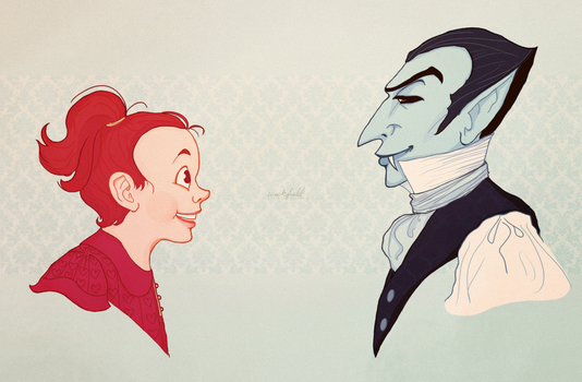 Mina and the Count by Wickfield