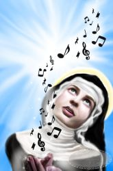 Hildegard of Bingen - Vision of Music by Tricia-Danby