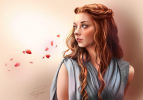 Margaery Tyrell // Game Of Thrones by Pomelyne