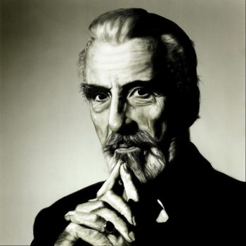 Christopher Lee by Apfeistrudel