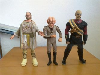 Star Trek - Custom alien action figures 2 by bobye2