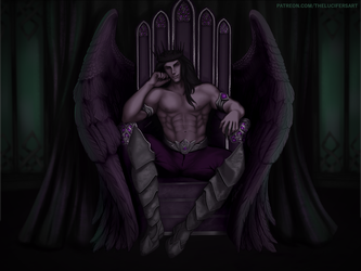 Hail to the King - Commission by TheLucifersArt