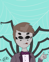 Spider Furry by Herobrinea1234