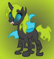 Bred Changeling - Tanny x Dusty Ichor by MonkFishyAdopts