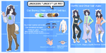 Jacky Reference Sheet by CreativeOwlet