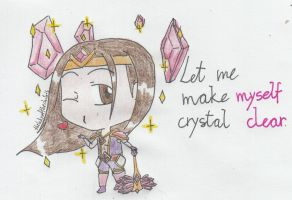 Quote chibi - Taric (Armor of the fifth age) by TheLadyOfTheChibis