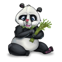 Panda for ArtAngelo by Stasushka