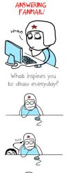 What inspires you to draw by alexiuss