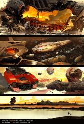 Worldview Speed Sketches by JamesLedgerConcepts