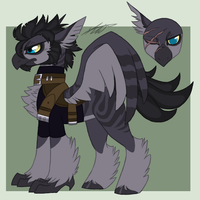 MLP Hippogriff Adopt Auction 3 GONE by Kasara-Designs