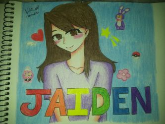 JaidenAnimations Fanart by PrincessBeautyLisa11