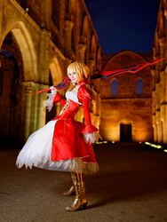 Saber Nero 2nd shot by Sandman-AC