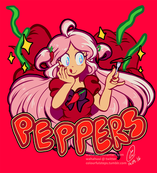 PEPPERS!! by wahahui