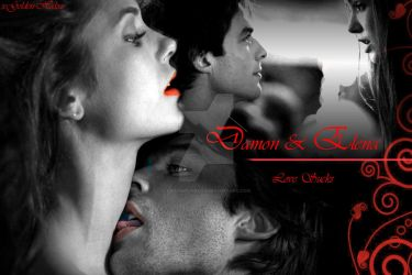 Damon and Elena 'Love Sucks' by xGolden-Halox