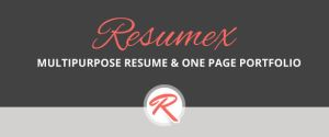 Resumex Link by ThemeBucket