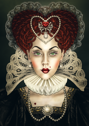 Queen Of Hearts by imagase