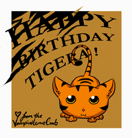 Tiger's birthday pic by Silent-Neutral