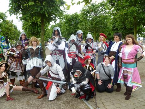 Assassin's creed cosplay part1 by prophet1991