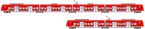 Konrad and Vilfred the DB BR 425 and 426 by trainnerdFromDenmark
