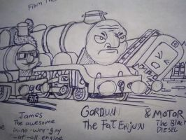 Gordun Teh Fat Enjun by Lightninging63