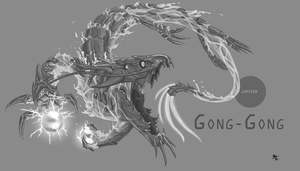 Project Pantheon - Gong-Gong by A3DNazRigar