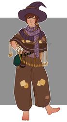 Vagabond Witch (SHORT AUCTION: CLOSED) by cindyjeans-designs