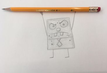 Frankendoodle/DoodleBob by CaptainEdwardTeague