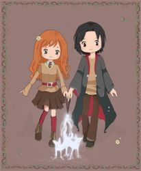 HP7-Severus Snape and lily by Ichijouji