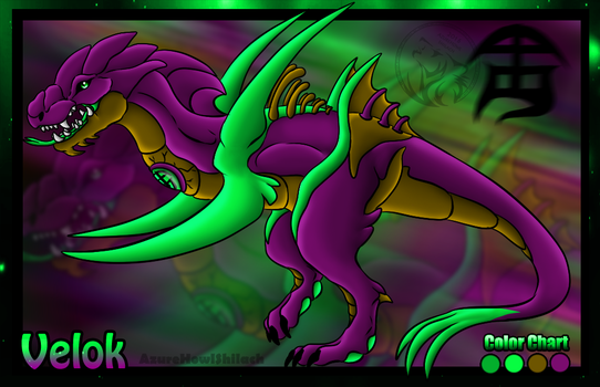 Velok the Poison Dragon profile by AzureHowlShilach