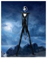 Jack Skellington by yasmine-chan