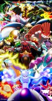 Every Legendary Pokemon (2012) by MightyGoodrum