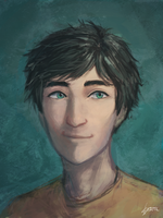 Percy Jackson by StaticColour