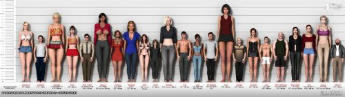 Domina's Valley 19 - Height chart by bmtbguy