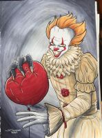 We All Float Down Here by PinkNinjaOTM