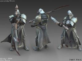 Low Poly Character by Woodys3d