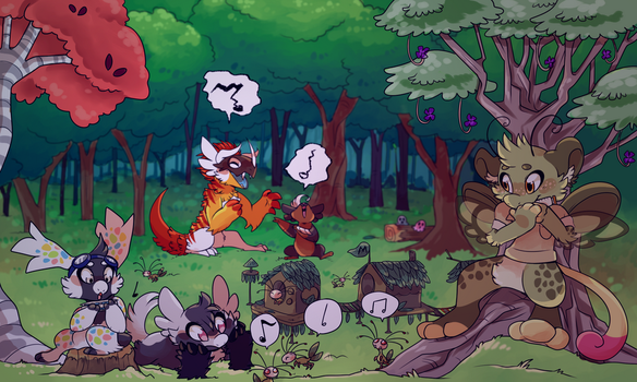 Bug Camp - Team Mischief Makers: Chummys by Nestly