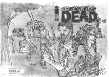 The Walking Dead - The angel's defeat by Mikela-Frost