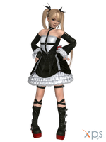 DOA5 Marie Rose Costume 01 Gothic 1 by rolance