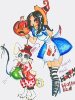 Alice's Halloween Pahmkyn. by TipsyReturns