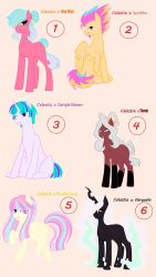 OPEN ADOPTABLES - Celestia Ships 6/6 by Ocean-Drop