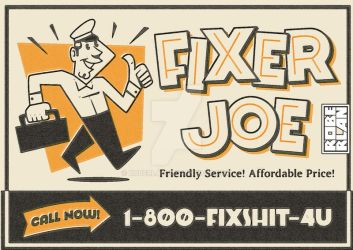 Fixer Joe by roberlan