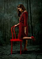Vintage Red Dress by IDiivil-Official